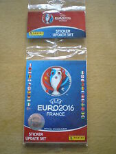 Panini EURO 2016 France Sticker-Update Set Multipack NEU, OVP
