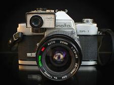 Minolta SR-1 SR1 film camera SLR  SR- METER-2 WORKS