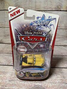 Disney Pixar Cars Stunt Racers JEFF GORVETTE Stunt Motor Inside