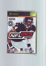 NFL 2K3 - AMERICAN FOOTBALL ORIGINAL XBOX GAME / 360 COMPATIBLE - NEW & SEALED D