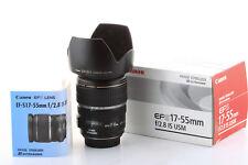 Objetivo Canon EF-S 17-55mm 1:2,8 IS USM pour EOS 800D 80D 7D EFS Garantizado 6m