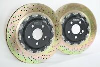 Platz1 360mm Rear 2-PC Floating Brake Disc Upgrade Rotor for Benz W205 C63/S AMG