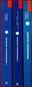GEOMETRIA CONTEMPORANEA vol. 1+2+3 OPERA COMPLETA MIR geometria differenziale CO