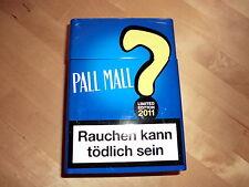 Pall Mall Metalldose, blau,Sammlerstück,limited Edition 2011