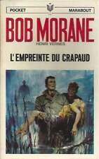BOB MORANE . L'EMPREINTE DU CRAPAUD . MARABOUT . EO . 1968 .