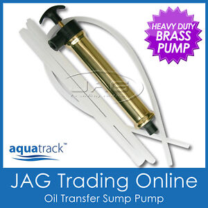 AQUATRACK BRASS OIL TRANSFER SUMP PUMP - Boat Engine Gear Box Inboard/Outboard