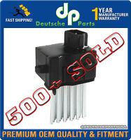 Blower Motor Resistor Final Stage Unit FSU for BMW E46 E39 X3 E53 X5 64116923204