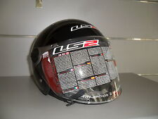 CASCO JET LS2 ROCKET II  GLOSS BLACK  - NERO LUCIDO XS