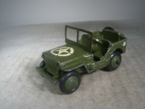 Dinky Toys Military Army #153a JEEP ORIGINAL PAINT & STARS