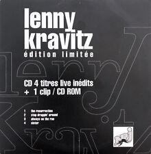 Lenny Kravitz Maxi CD 4 titres live inédits - Edition Limitée - Promo - France