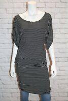 SZABO Australia Brand Black White Striped Dress Size XS LIKE NEW #AN02