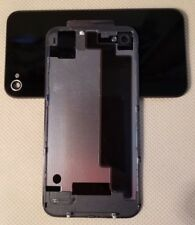 New Apple Battery Cover Back Door Glass Rear Case for iPHONE 4 CDMA A1349  BLACK