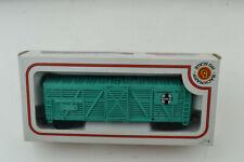 Bachmann Boxed Train Car 71500 Wood Stock Car Santa Fe 41' Turquoise Ready To Go