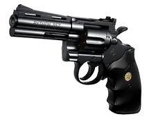 NEW!! Tokyo Marui Colt Python 357 Magnum 4 inch Black Airsoft Hand Gun Japan F/S