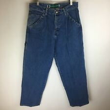 Vintage Levi's SilverTab Jeans Carpenter Distressed Tag Size 32x32 (32x31) #3291