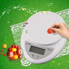 5kg/1g Kitchen Digital Scale LCD Electronic Balance Food Weight Postal Scales BD