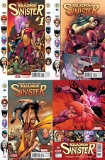 Squadron Sinister #1-4 Complete Set