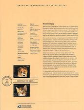 #0233 37c Neuter or Spay (2) #3670-3671 Souvenir Page