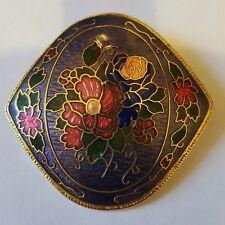 enamelled brooch A beautiful