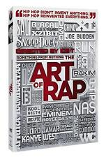 New: ART OF RAP, HIP-HOP DOCUMENTARY - DVD w/ Special Features feat. Ice T