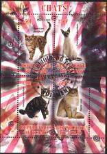 CHAD TCHAD Used S/S Fauna Cats 2013    avdpz