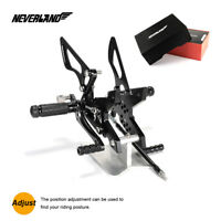 NEVERELAND CNC Rearsets Rear Sets For Kawasaki Z750 2007-2013 Z1000 2007-2009