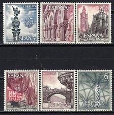 Espagne 1965 Yvert n° 1306 à 1311 série touristique neuf ** 1er choix