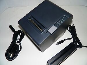 Epson M129M TM-T88IV RESTICK Thermal POS Receipt Printer USB Printer w power sup
