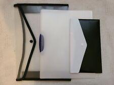 Black White & Transparent Portfolio Set