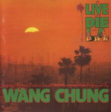WANG CHUNG To Live And Die In L.A. (Original 1985 U.S. CD w/8 Page Booklet)
