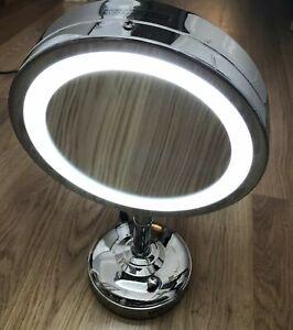 No.7 Illuminated Make Up Double Light Up Mirroe NEW DAMAGED PACKAGING