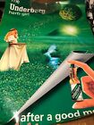 """RARE Underberg Bitters Large 1990's Poster Measures 33"""" x 23.5"""" Vintage"""
