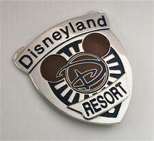 """Vtg Disney Badge Button Pin Disneyland Resort Employee Large (2.75 x 3"""") Pinback"""