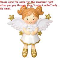 IN LOVING MEMORY OF DAD MOM GRANDPA GRANDMA PERSONALIZED CHRISTMAS TREE ORNAMENT