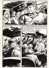 OSS 117 LE CHIMPANZEE QUI PARLE (BRUCE/SANCHEZ) PLANCHE ORIGINALE PAGE 143