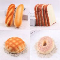 1x Soft PU Made Lifelike Bread With Sweet Smell Ornament Craft Decorations