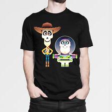 Coco Toy Story Art T-Shirt Men's Women's New Cotton Tee XS-5XL