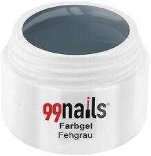Farbgel - Fehgrau 5ml - Gel Farbe Anthrazit Grau Pastell Grau UV Farbgel UV Gel