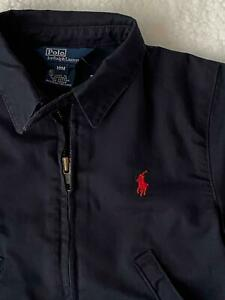 NWT Polo by Ralph Lauren Navy Blue Chino Jacket Full Zip R$55 Infant Boys 18M