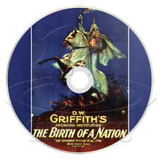 The Birth of a Nation (1915) Drama, History, Romance, Silent Film / Movie on DVD