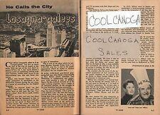 1960 Tv Article~June~Papa Joe Milani~Los Angeles Cooking Show~Hollywood Canteen