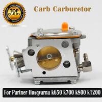 Carburetor for Chainsaws Walbro Husqvarna Partner K650 K700 K800 K1200 Parts