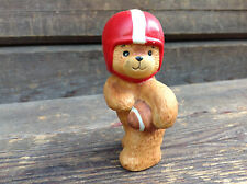 Lucy and Me Football Bear - 1980 Enesco