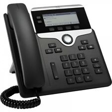 More details for cisco 7821 uc ip phone. poe sip phone 2 lines