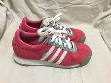 ADIDAS SAMOA VIVID BERRY ATHLETIC CASUAL SHOES - ( SIZE 6 ) MEN`S