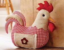 Unbranded Chicken Fabric Decorative Doorstops