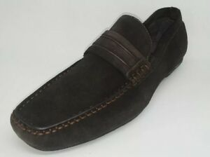 Kenneth Cole New York Men's Shoes Un-Wave RI Chocolate Dk Brown Slip On US 7 M