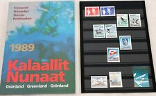 Greenland Post Official Year Set 1989 Complete with Birds - MNH - Excellent!