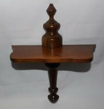 Tradition Style Wood Wall Hanging Shelf-14 1/4 Inches Tall