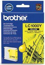 Cartucho tinta amarilla original Lc1000ybp Brother